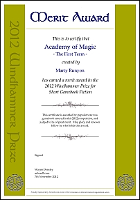 Academy of Magic - The First term by Marty Runyon