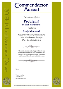 Problem? A Troll Adventure by Andy Moonowl