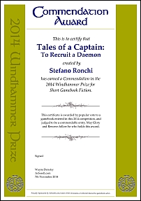 Tales of a Captain: To Recruit a Daemon by Stefano Ronchi