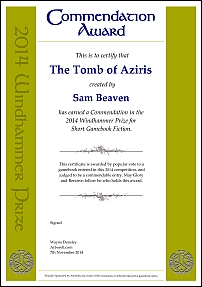 The Tomb of Aziris by Sam Beaven