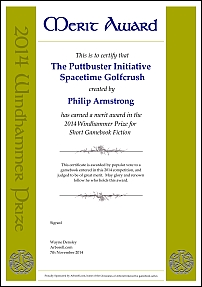 The Puttbuster initiative by Philip Armstrong