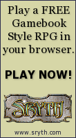 Sryth.com - Play a free gamebook style RPG in your browser!